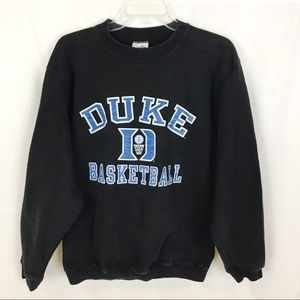 COTTON EXCHANGE Duke Blue Devils Crew Sweatshirt-M